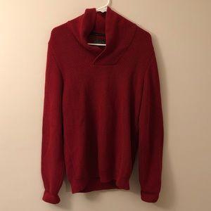 Vanguard Motorcycle Sweater Red Medium